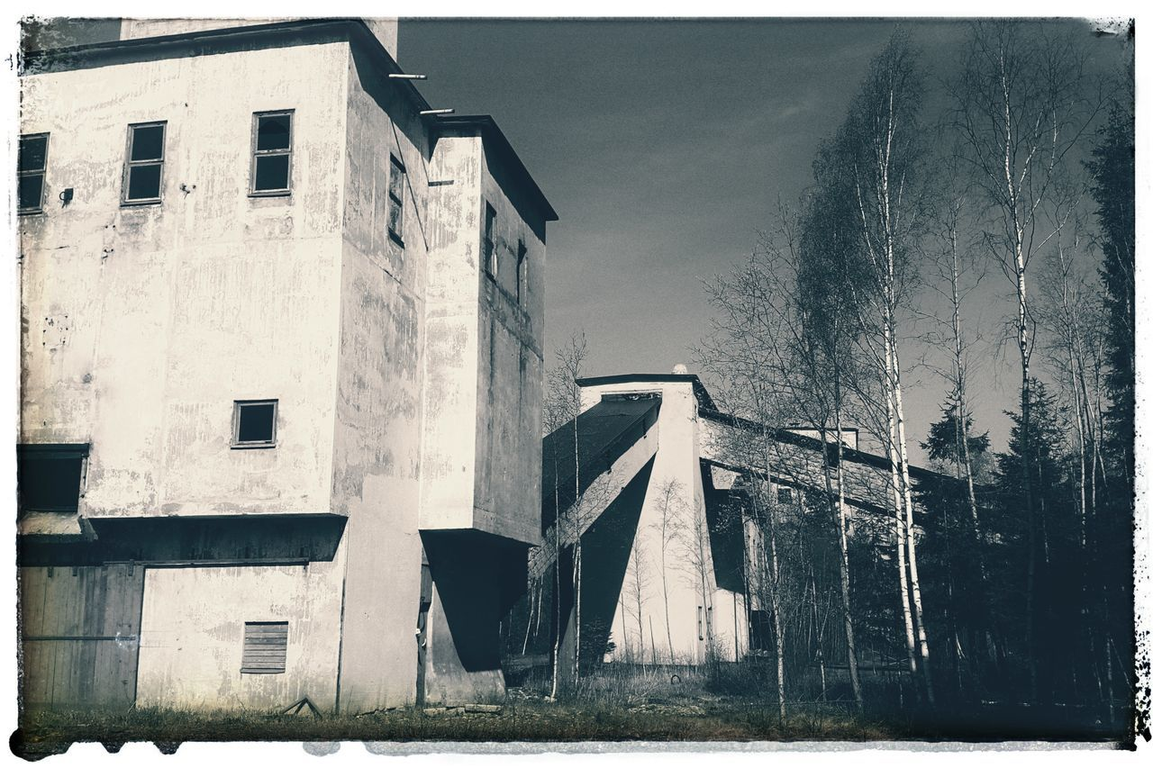Building Exterior Architecture Outdoors Abandoned Places Abandoned Buildings Abandoned Mining Industry
