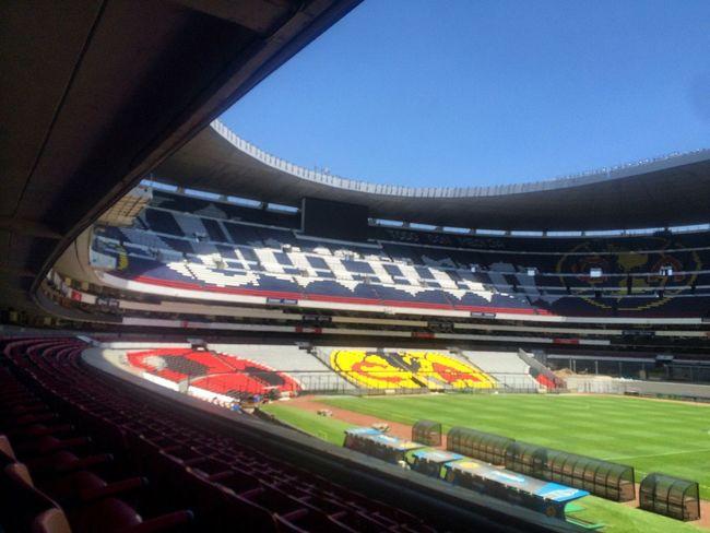 Football Field Football Stadium Football Fifa Estadio Soccer Mexico City Futbol Estadioazteca Stadium