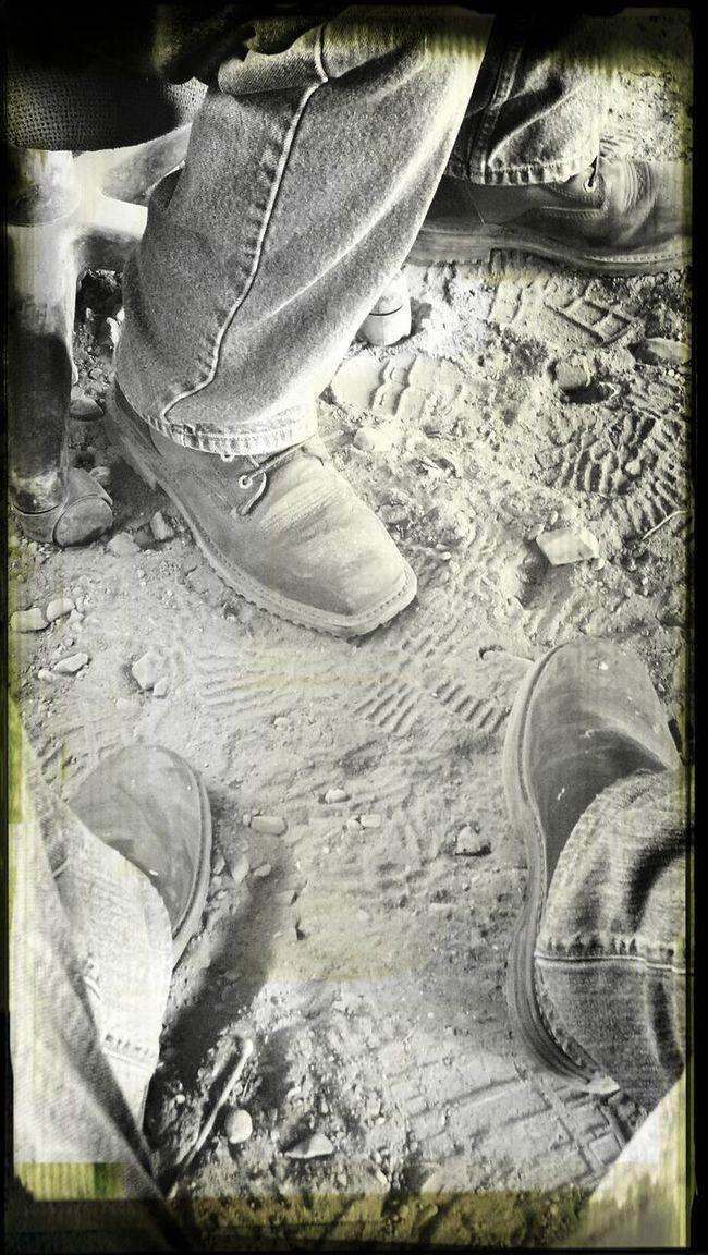 lunch break Work Boots Relaxing Leather Welder
