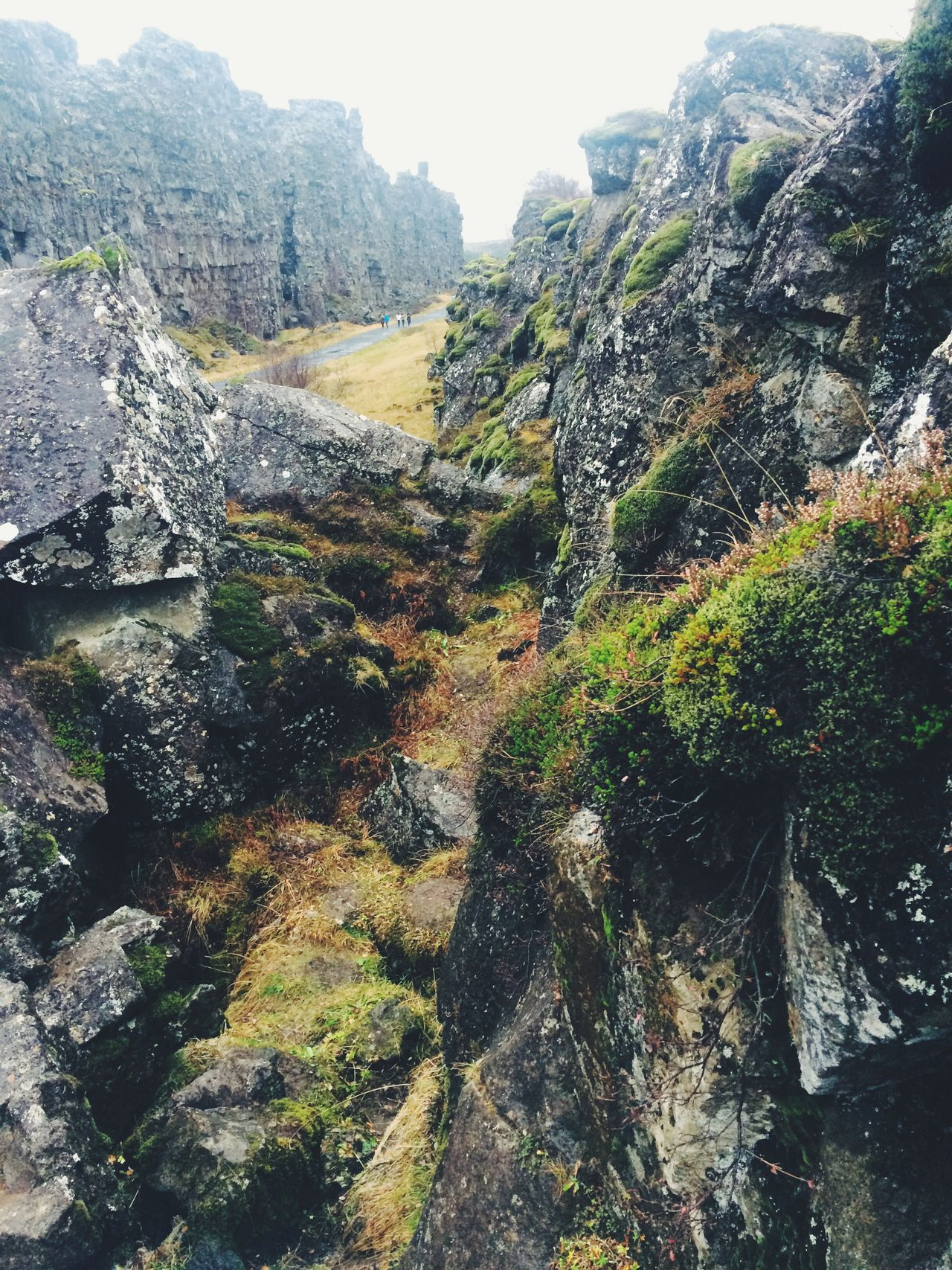 Thingvellir National Park Iceland Beauty In Nature Outdoors Rock - Object Nature Travel Destinations No People