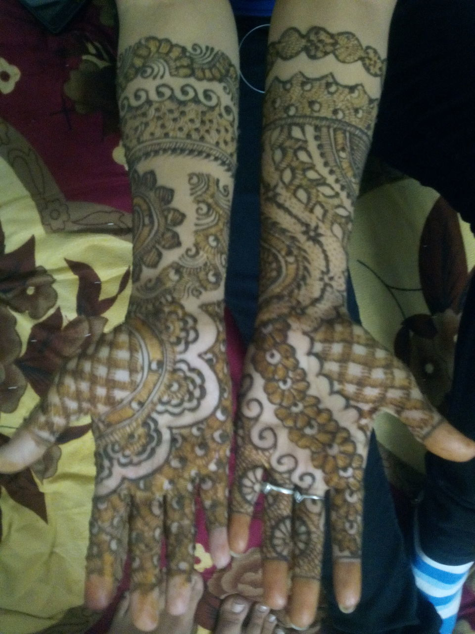 indoors, low section, real people, human body part, fashion, human hand, human leg, pattern, women, close-up, one person, day, bride, people