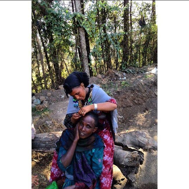 AddisPicOfTheDay Shuruba Filweha Addis  Addisababa Ethiopia Africa AddisLiving Braids Friends