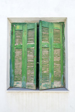 Very old dilapidated wooden shutters, dilapidated paint Close-up Closed Day Dilapidated Paint Geometric Shape Green Green Green Color Old Dilapidated Wooden Shutters Outdoors Typical Greek Typical Houses Wooden Shutters Neighborhood Map Live For The Story