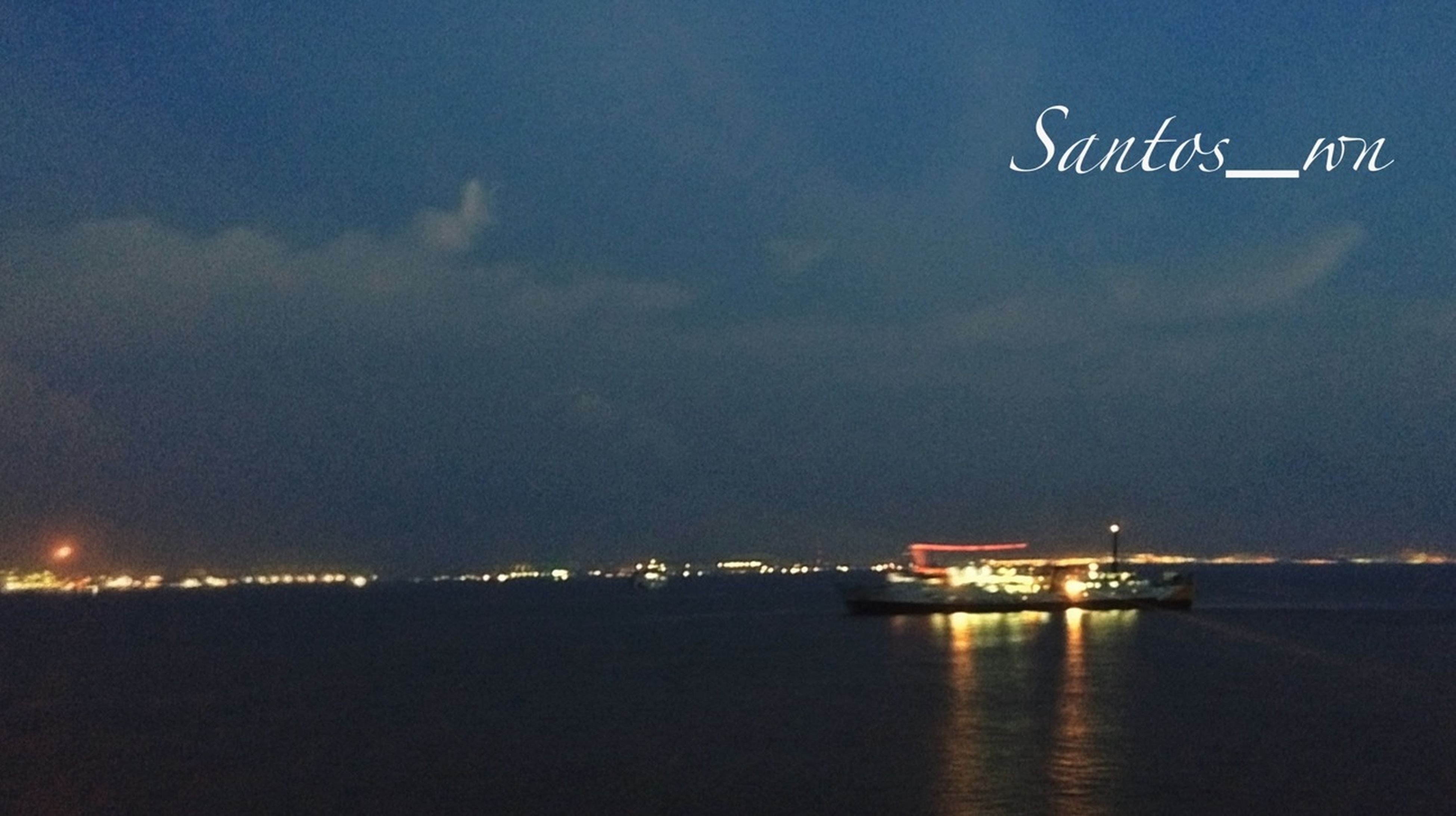 Night Lights EyeEm Indonesia On Ship EyeEm Best Shots