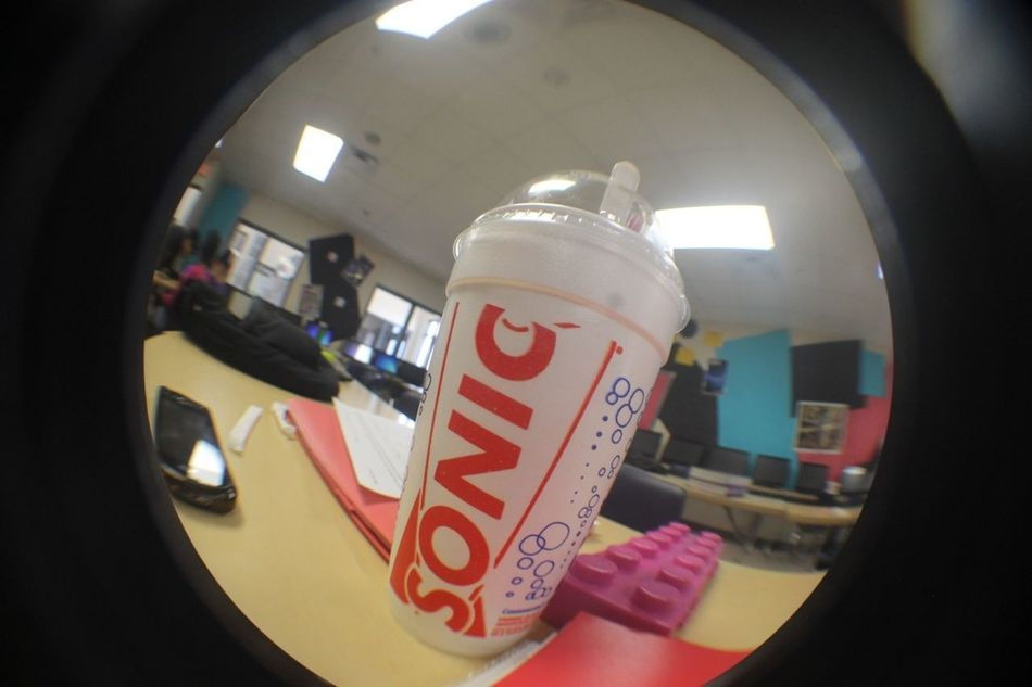 Fish Eye Sonic Cup