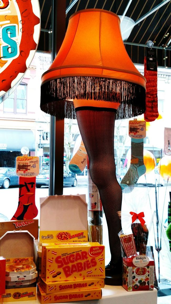 Taking Photos Nestalgia Novelty Shop Vintage Candy Candy Shop Downtown Salem, Oregon