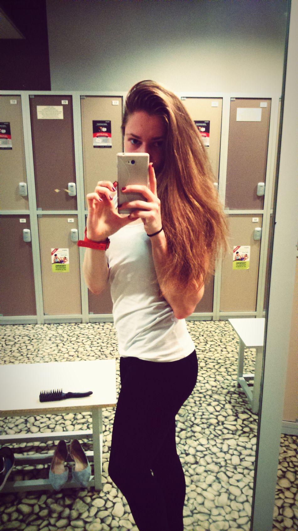 That's Me Beautiful Girl Sport Sportlife GymTime good trainning💪 Sportgirls
