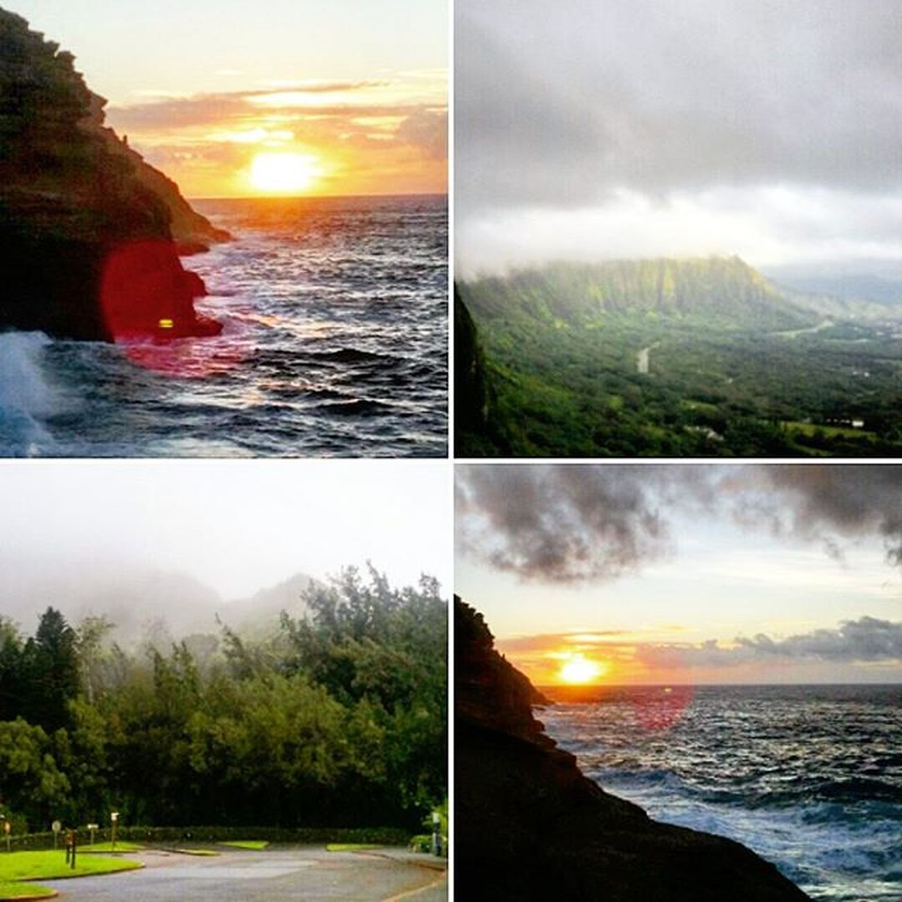 Scenic Sunday! :) Sunrise Palilookout Spittingcaves Koolaumountains Epichi Luckywelivehi HiLife Morning Shenanigans Venturehawaii