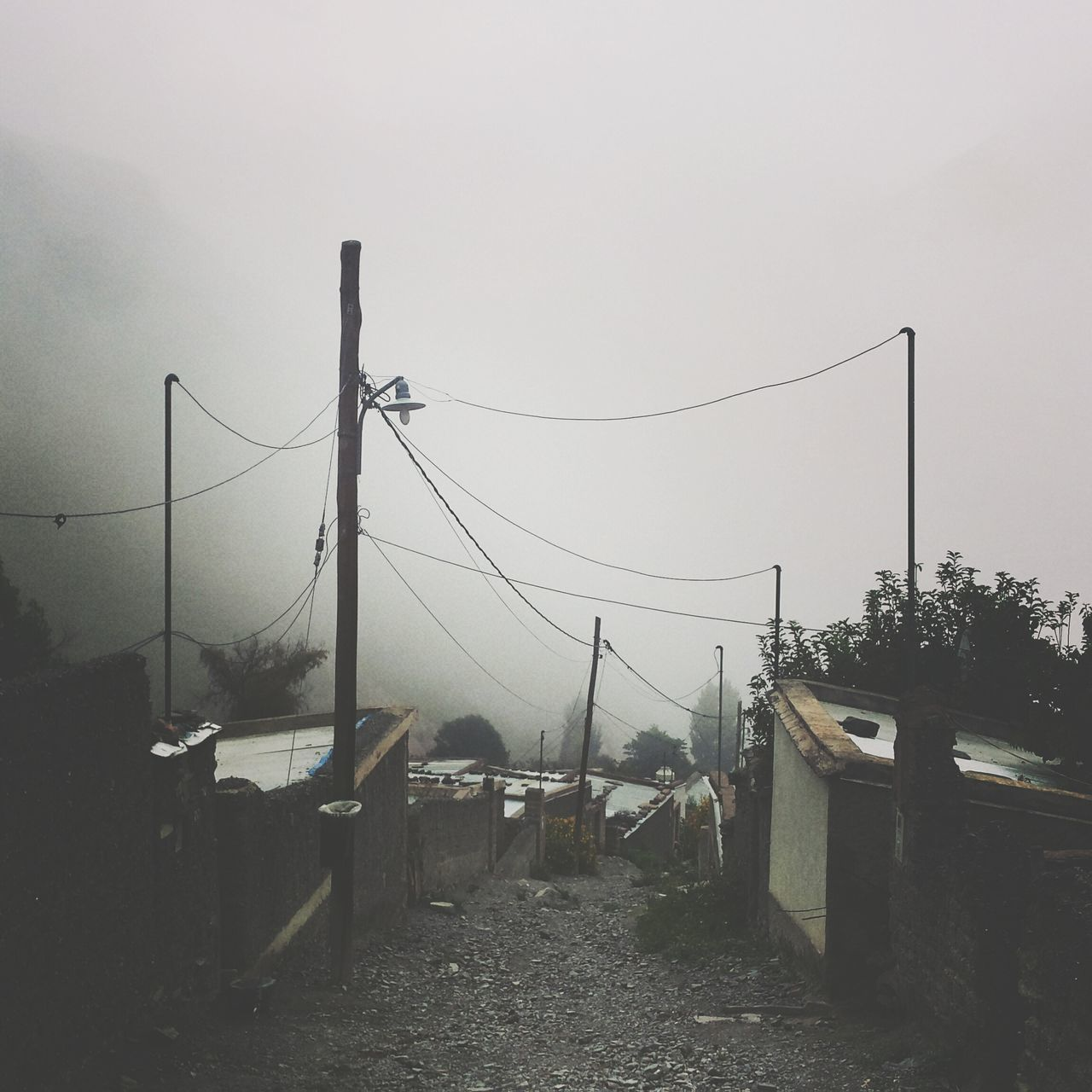Iruya Argentina Foggy Morning