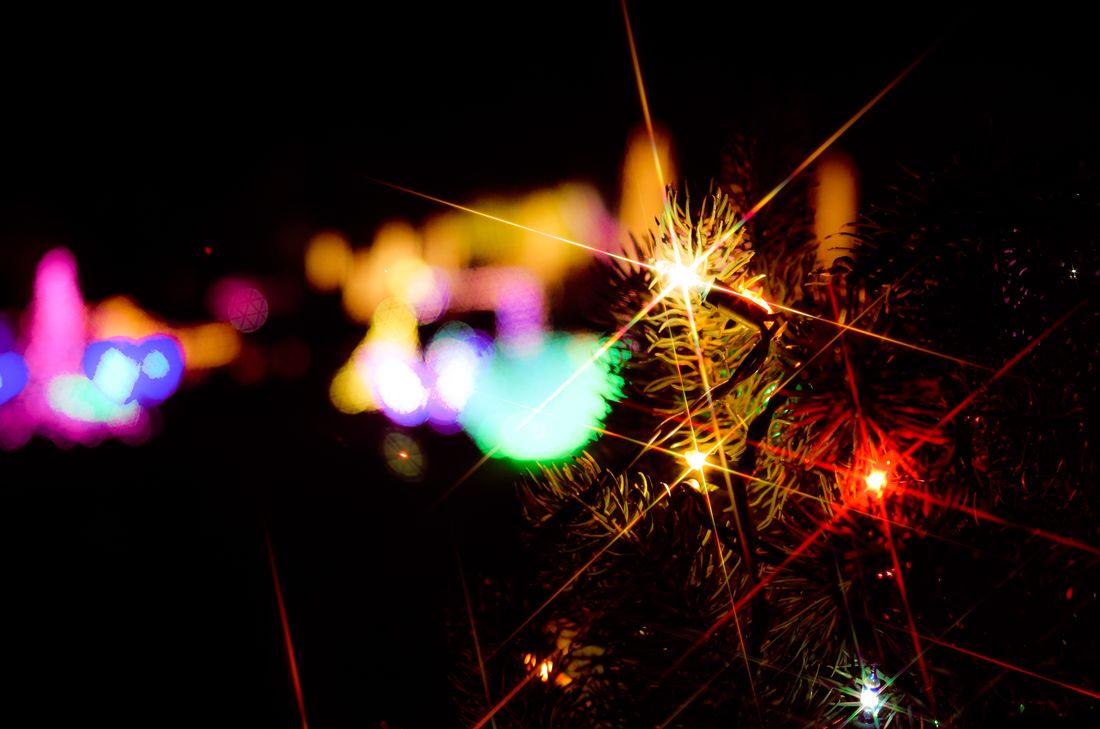 Night Lights Irumination Love Japan Light And Shadow Light Winter