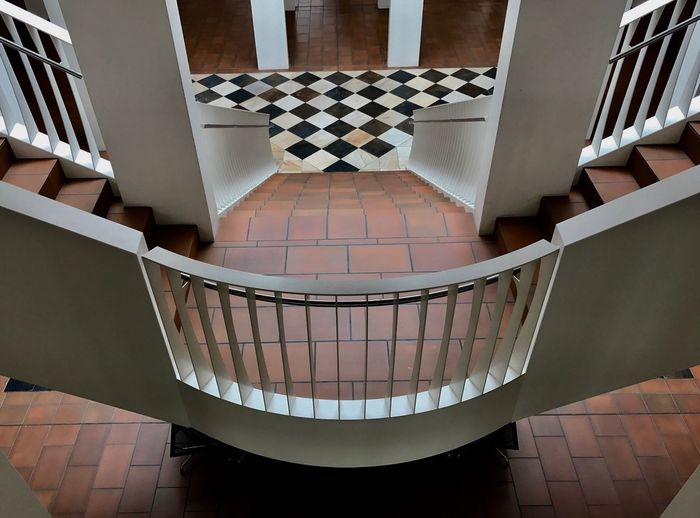 Indoors  Architecture Railing Stairs Symmetry Symmetrical Architecture Architectural Detail Detail Floor View Building Dietikon
