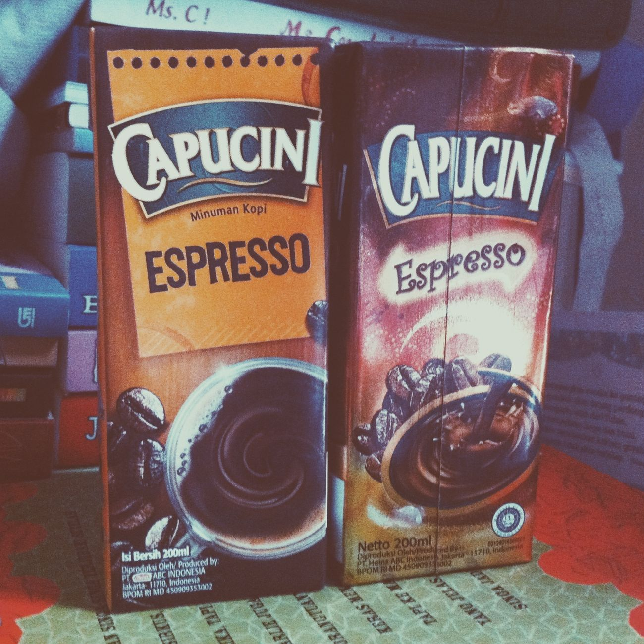 Capucini New vs Old packaging