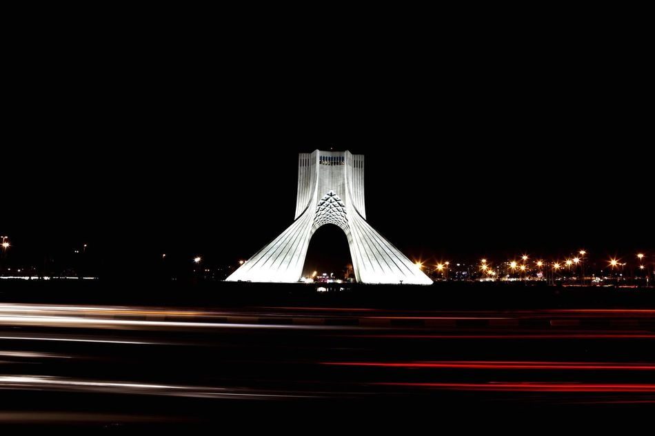 Azadi tower in the night ,Tehran.Iran Night Speed Transportation Illuminated Long Exposure Outdoors No People Architecture Tehran, Iran Tehran Night Tehran Streets Art Is Everywhere Tehran Tehran At Night Architecture Azadi Tower Azadi Tower In Tehran Azadi Square EyeEm Diversity EyeEm Diversity The Secret Spaces Art Is Everywhere EyeEmNewHere Break The Mold