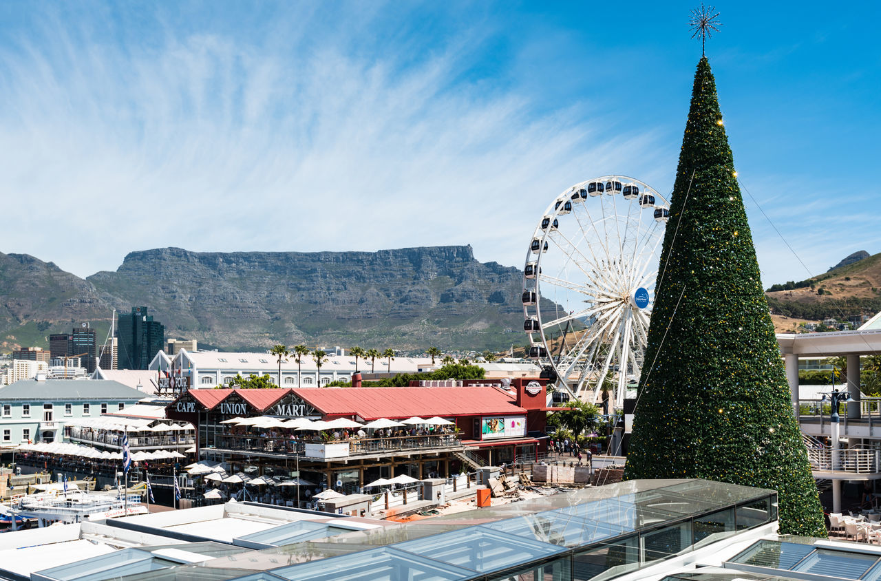 Christmas Christmas Tree Ferris Wheel South Africa Travel Destinations V&A Waterfront Xmas Xmas Tree Xmas🎄