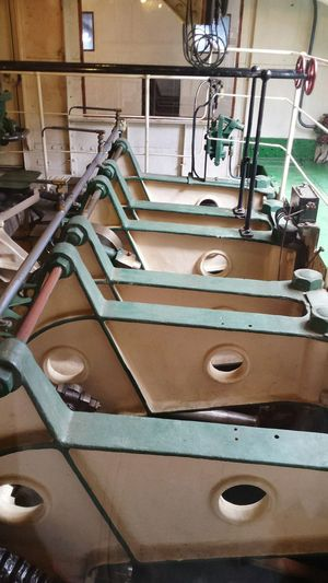 Old Ship Nautical Vessel Steamboat Travel Destination Mode Of Transport Engine Parts Engine Room Pistons Architecture Close-up Ship InteriorShips Engines Built Structure Historic Indoors  Viewpoint Deck View Museum Ship