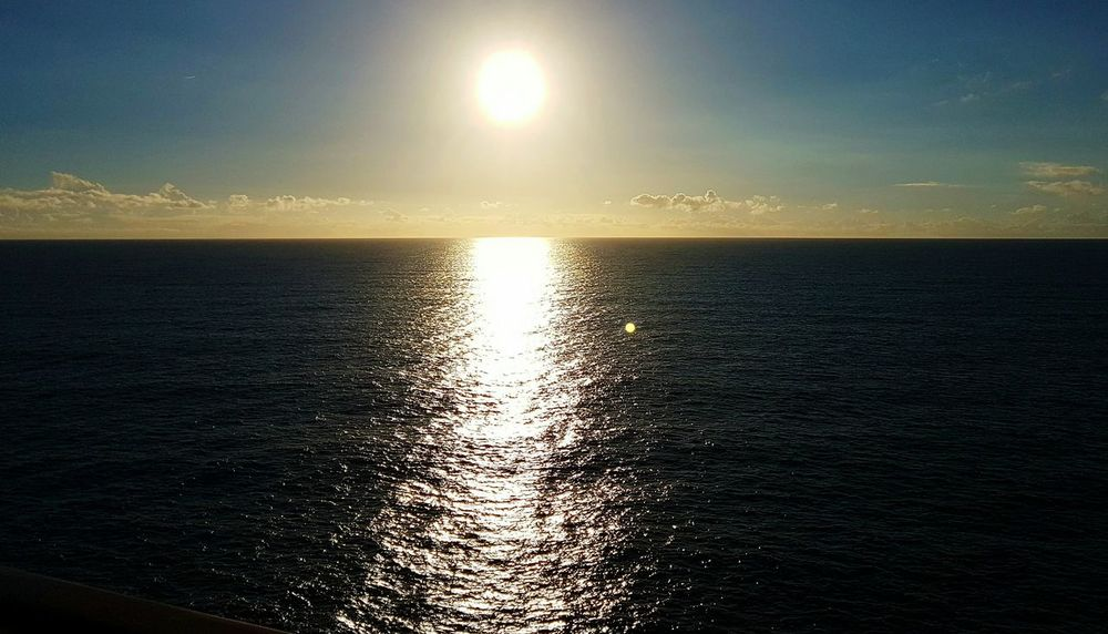 Water Sunset Reflection Wet Nature Sunlight Tranquility Sky Beauty In Nature No People Outdoors Sea Refraction Scenics Day sunrise Pacific Ocean Tasman Sea South Pacific
