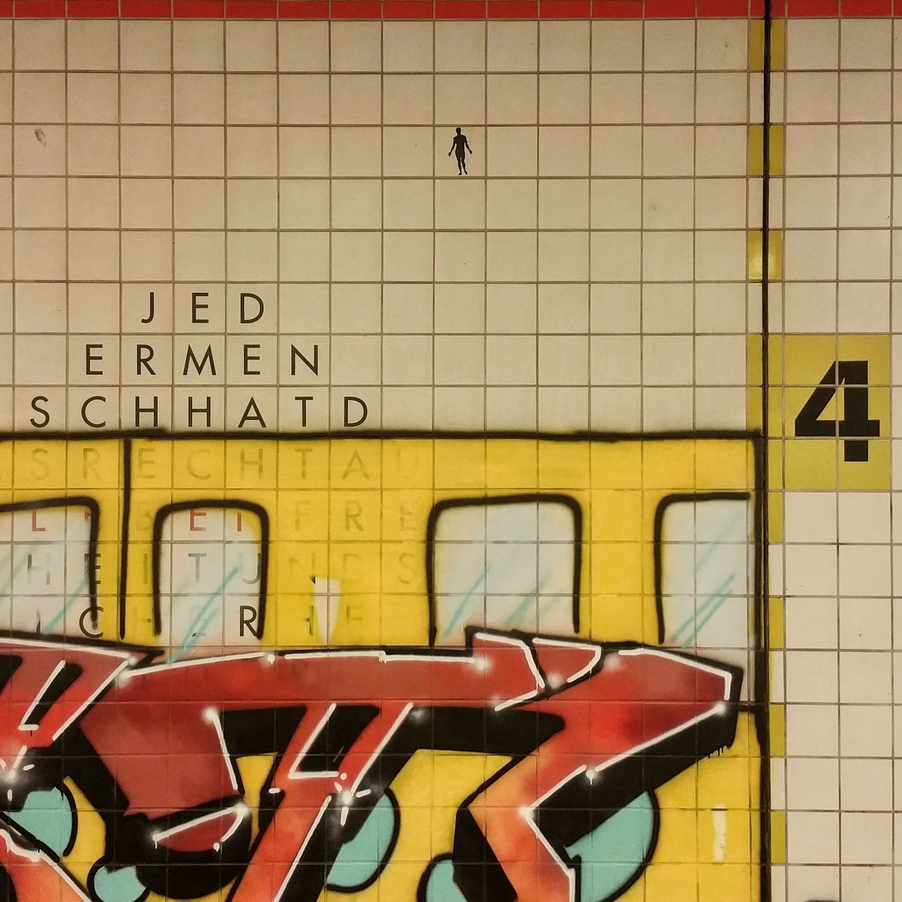 No People Text Transportation Communication Indoors  Hiddengems Urban Scene City Urban Photography City 2.0 - The Future Of The City Berliner Ansichten Public Transportation Railroad Station Platform Urbexexplorer Notesfromtheunderground Streetart/graffiti Yellow Fassadengestaltung Architecture Berlindubistsowunderbar Subway Station Subwayphotography Abstractarchitecture Moabitistbeste Moabit