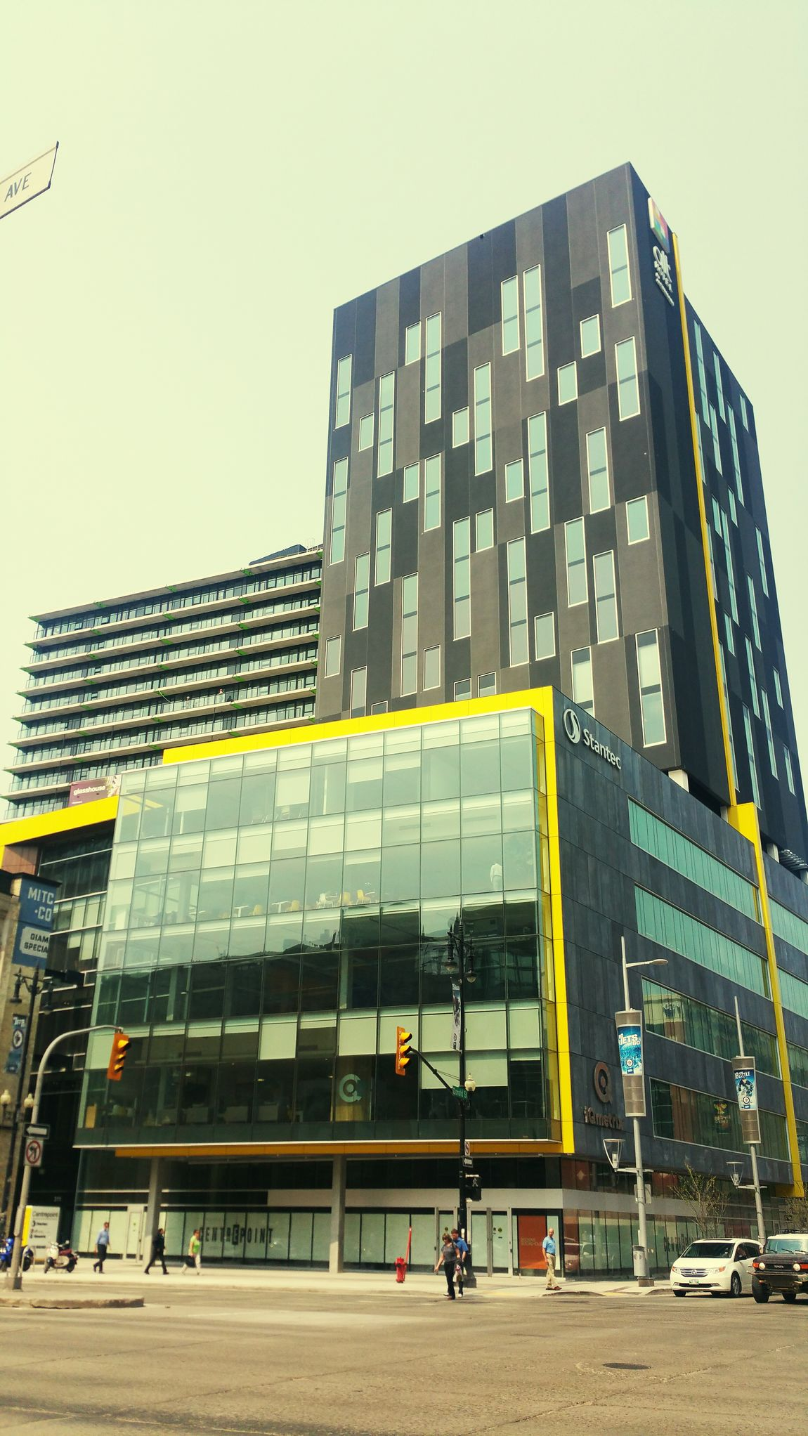 Taking A Walk On My Lunch Break through Downtown Winnipeg . Our Cityscape is Evolving . Evolving City Modern Architecture .