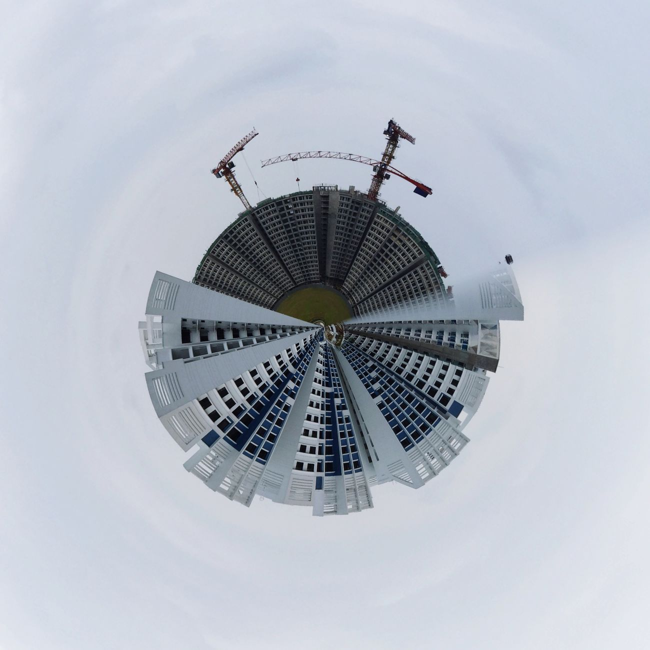 Planet Under Construction. Tinyplanet Tinyplanets LittlePlanet Tinyworld Tinyshutter