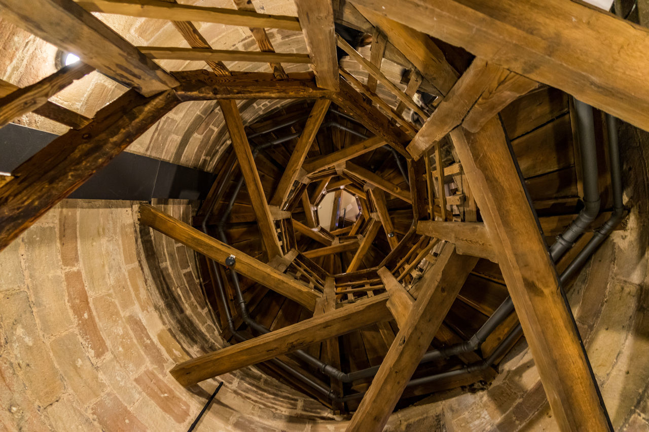 way up Alternative Energy Business Finance And Industry Close-up Day Indoors  No People Sky Water Wheel Watermill Wood - Material