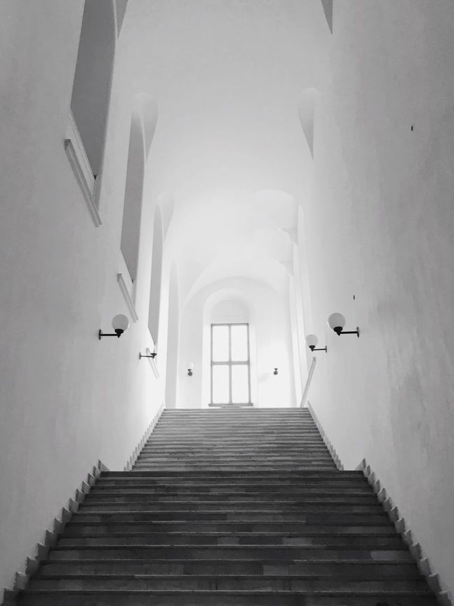 Stairs of Taşkışla Stairs History Historic Historical Building Taşkışla ITU Military Builds Education Architecture Architecture_collection EyeEm Best Shots Eye4photography  IPhoneography Black And White Black & White Faculty Of Architecture Faculty Istanbul Teknik Universitesi Barracks
