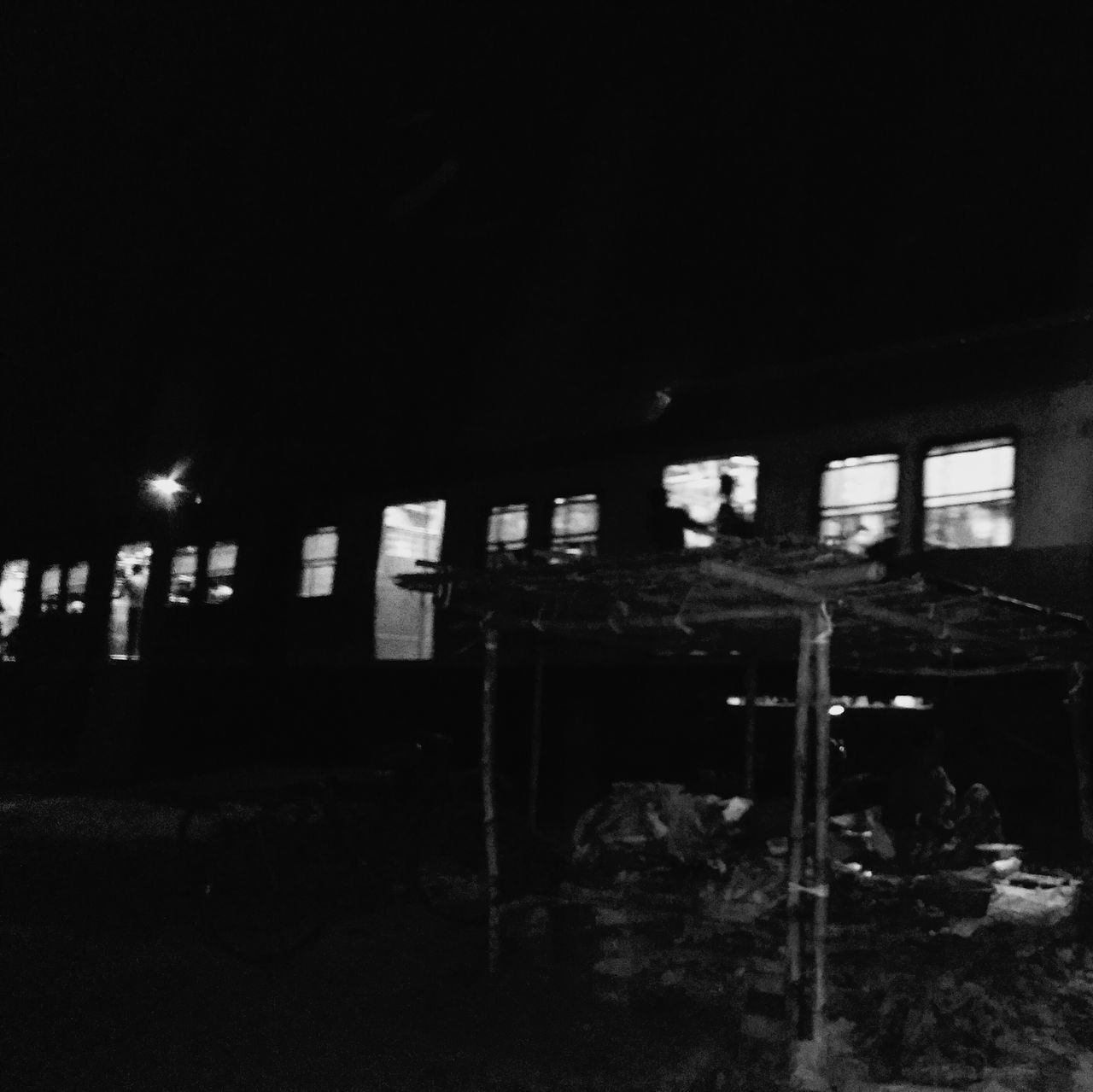 Somewhere in between of nowhere... Railway Tracks Old Withered Shacks Train Welcome To Black Welcome To Black