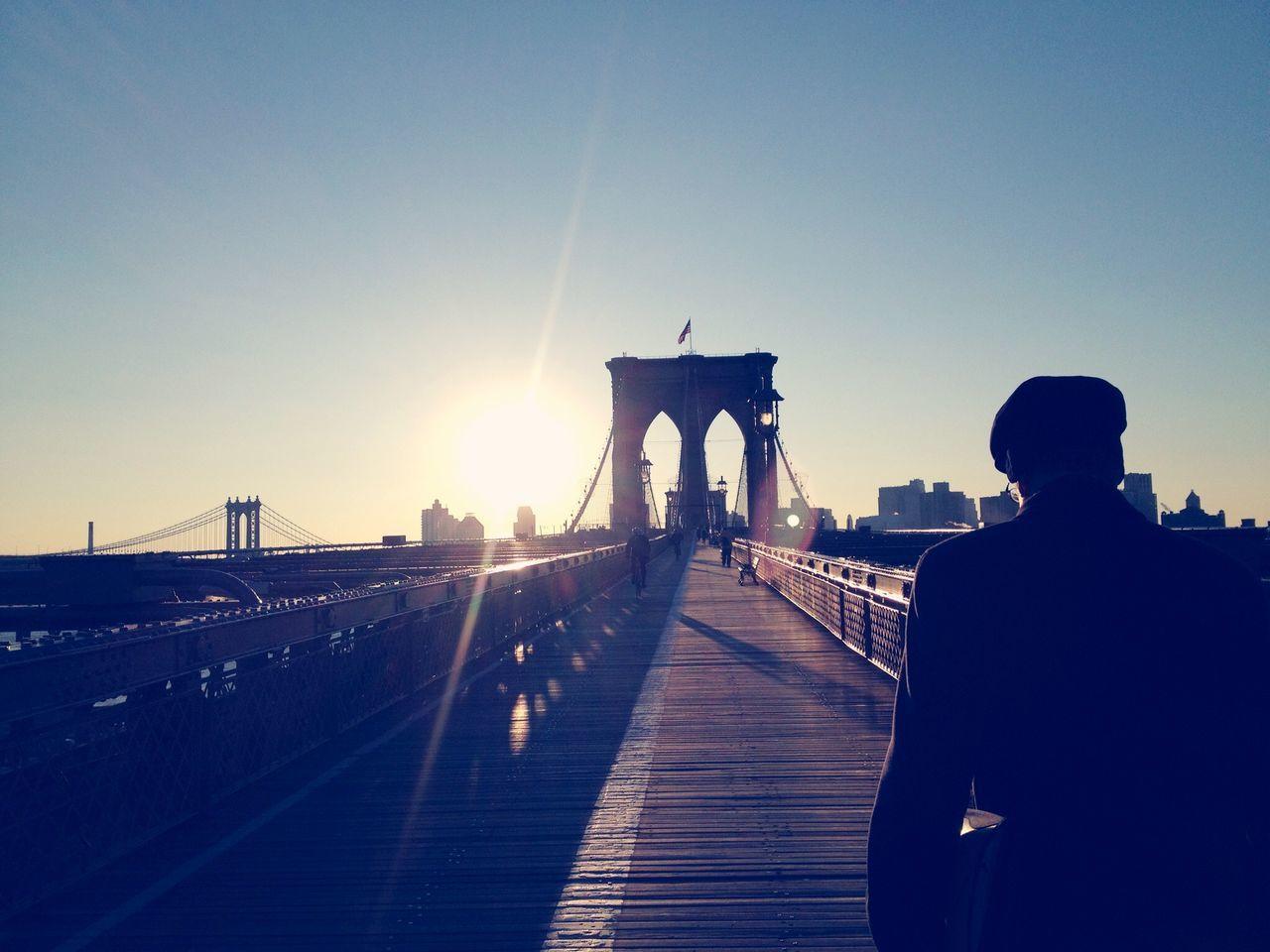 Beautiful stock photos of bridge, Architecture, Bridge - Man Made Structure, Brooklyn Bridge, Built Structure