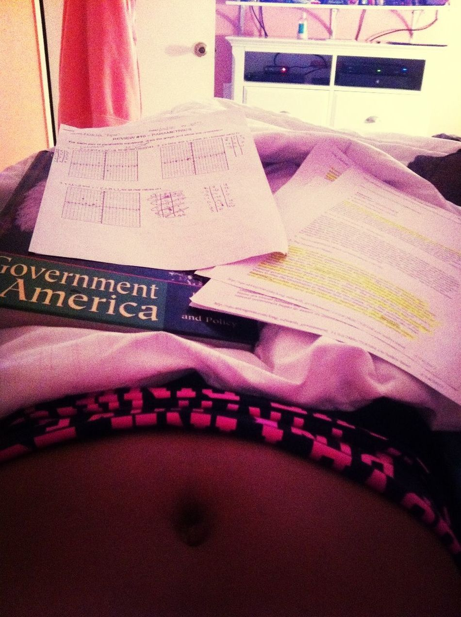 Putting Work In .. Pre-cal Ap Goverment And Notes