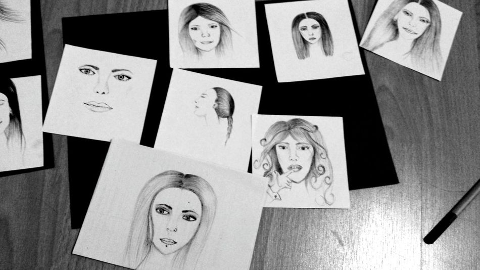 some random sketches made in sept. 2013 Drawing