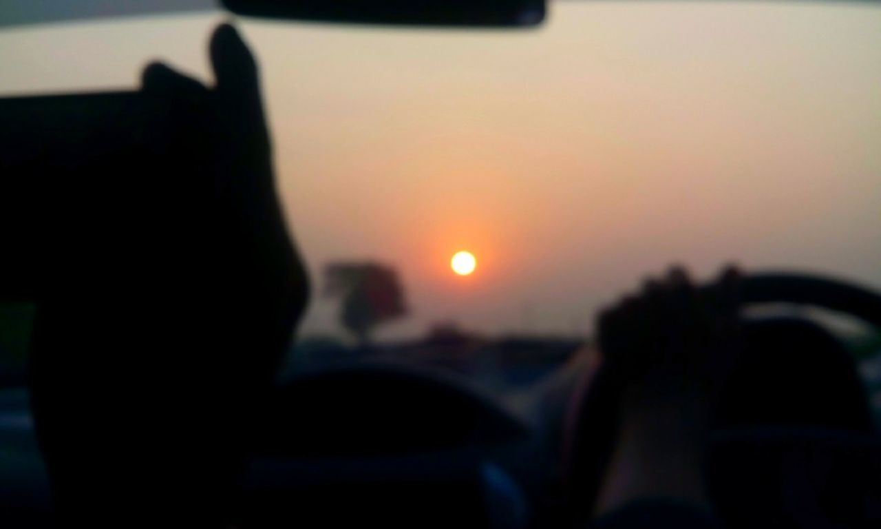 morning trip, almost 7 o'clock and the sun heading our way..!!! Traveling Bhāvnagar Mobile Photography Sky Piram Morning Photography Morning View Roadside Morning Sunrise Morning Trip Road Trip Car EyeEmNewHere