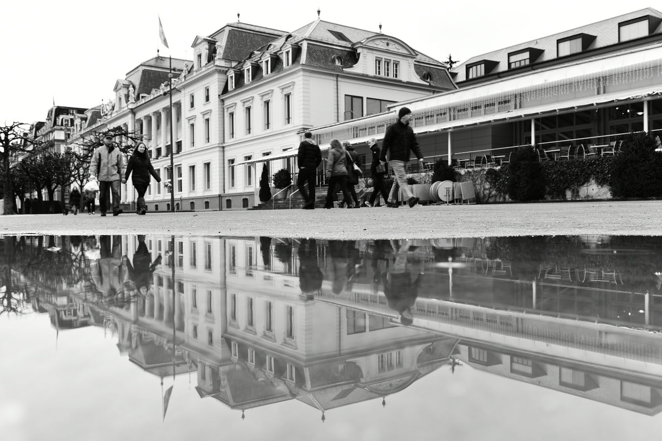 Taking Photos Swiss Luzern Nikon D750 Water City Rain Blackandwhite It's Cold Outside Black & White Luzern Nikon Switzerland Reflection Tree Peoplephotography JO-LPHOTO EyeEm Best Shots