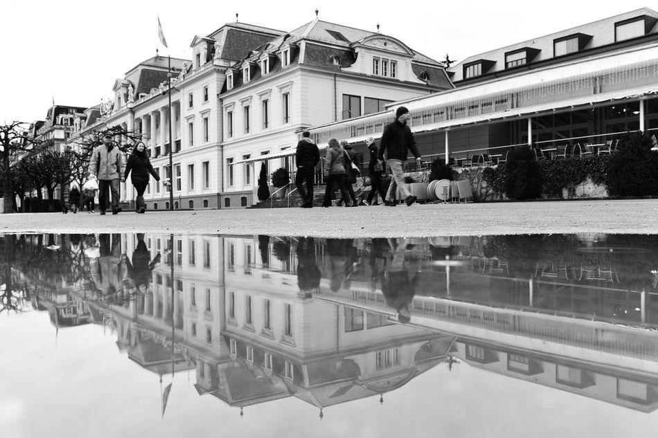 Taking Photos Swiss Luzern Nikon D750 Water City Rain Blackandwhite It's Cold Outside Black & White Luzern Nikon Switzerland Reflection Tree Peoplephotography JO-LPHOTO EyeEm Best Shots