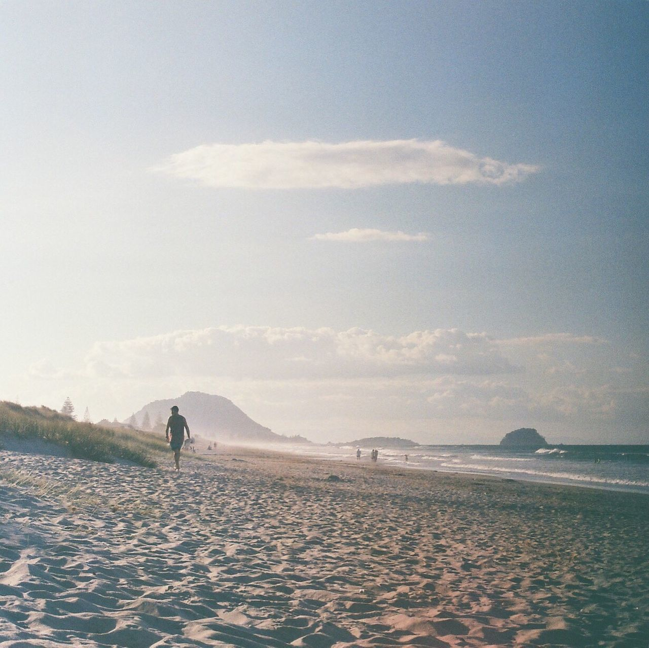 Papamoa Beach Tauranga Papamoa Beach NZ Sea Water Beach Sand Scenics Fujifilm Superiaxtra400 Olympus Om10 Film Photography