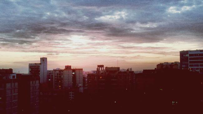 Hello World Sky Landscape Sunset Enjoying Life Sunnyday Beautiful View Daynew