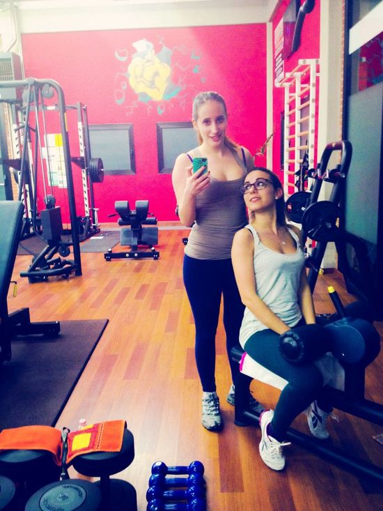 Workout Girl Friends Followme