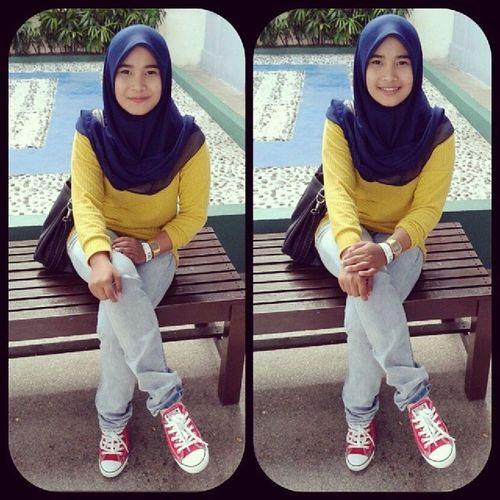 Hii , my name is Haniss Nadia binti Zahari , okbaiii ! Throwback Yesterday Gambang
