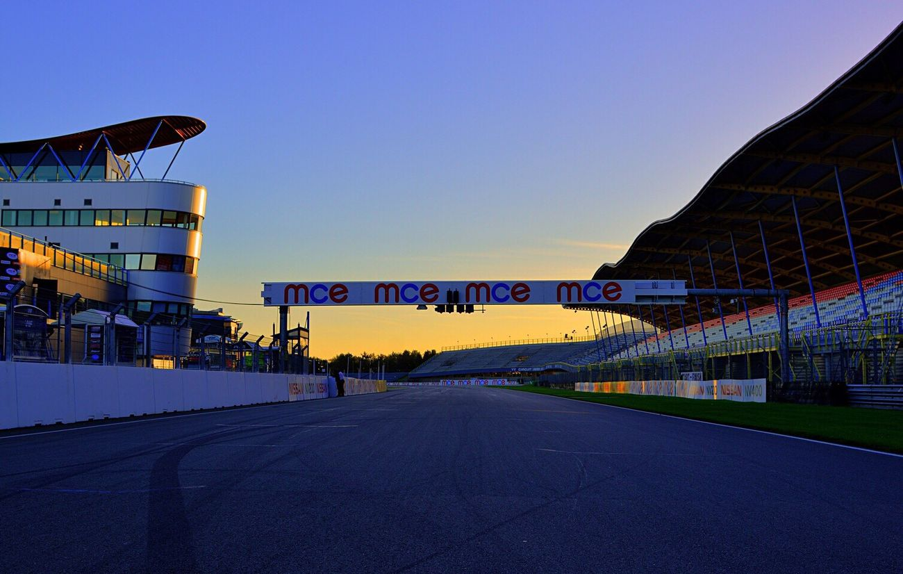 MCE British SuperBikes at dawn