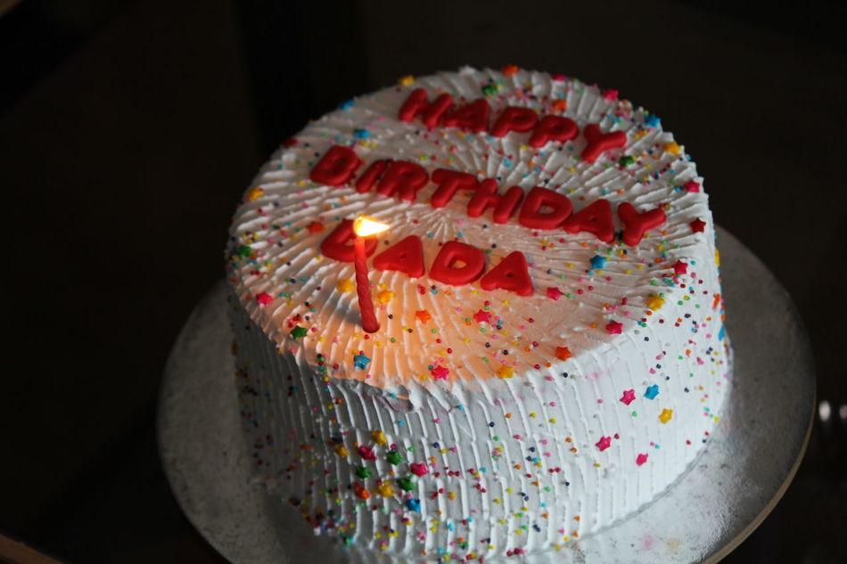 Birthday Cake Grandpa's Birthday! 81st B'day