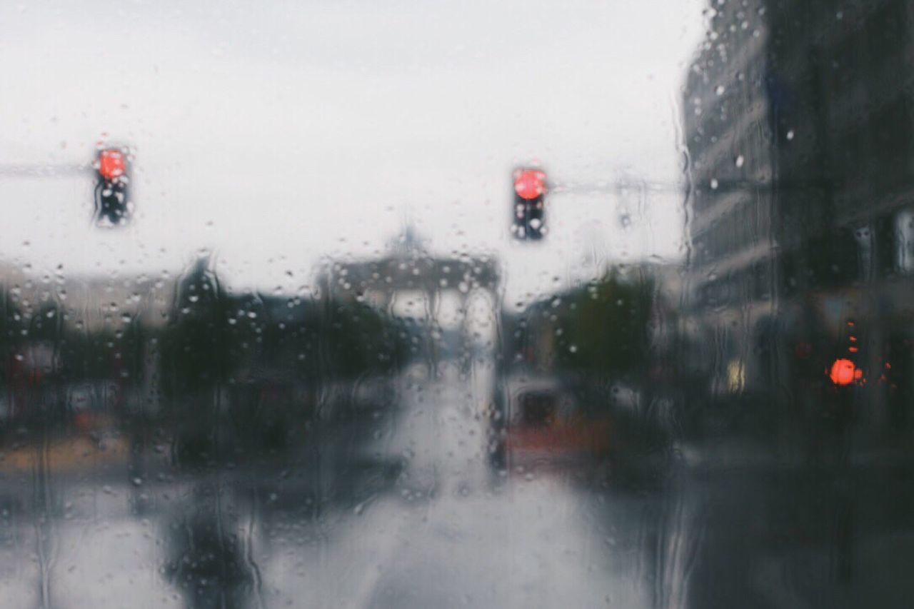 Berlin Weather Rain Window Glass - Material Wet Rainy Season RainDrop Car Drop Looking Through Window Land Vehicle Transportation No People Day Water Winter Snowing Cold Temperature Outdoors Snow