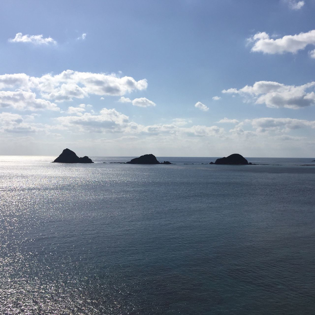 Sea Sky Beauty In Nature Tranquil Scene Water Nature Scenics Tranquility Idyllic Horizon Over Water Cloud - Sky No People Day Outdoors Islands Smallisland Tinyisland Landscape Mountain Winter Sea Kagoshima Amami Island