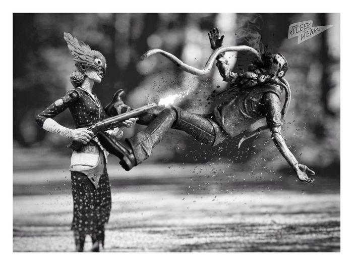 🔥🔫 Ladysmith Splicer Bioshock Monochrome Photography Graphic_arts_bnw Blackandwhite Photography Blackandwhite Toyphotography Neca Toys Ata_dreadnoughts Toygroup_alliance Toycrewbuddies Smoker Left4dead