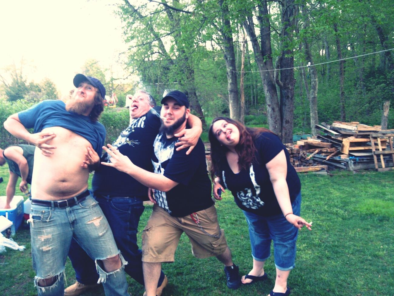 Goofballs Party Drunk Cook Out cook
