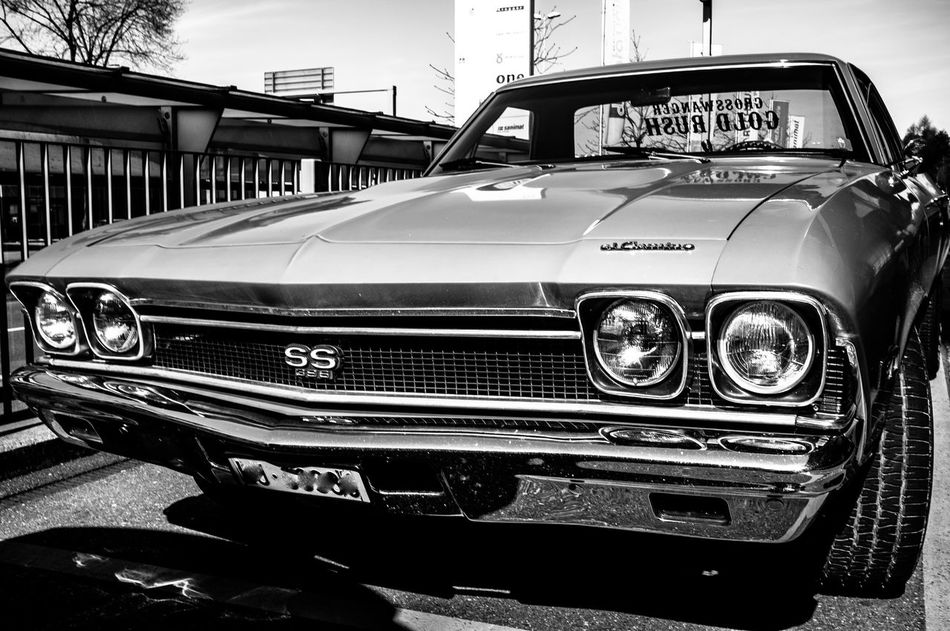 Car Chevrolet City Collector's Car Day El Camino Land Vehicle Luxury No People Old-fashioned Outdoors Retro Styled Transportation