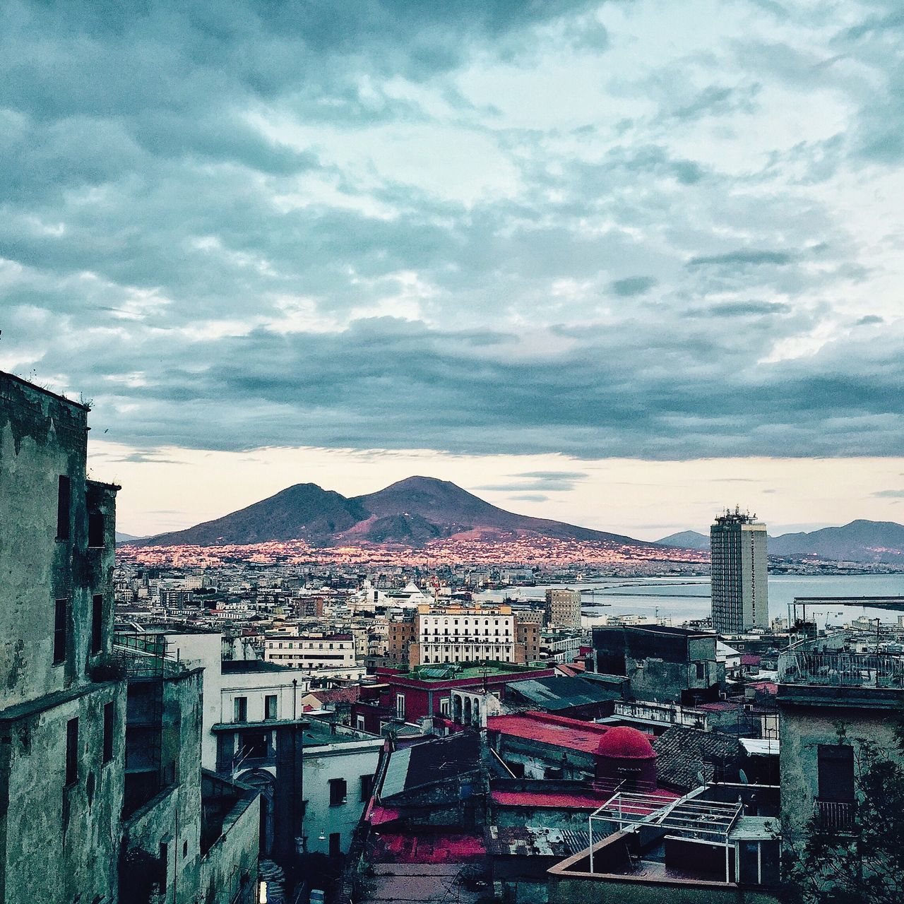 Napoli at Sunset
