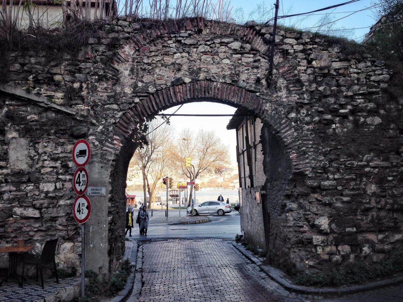 Gezgin İstanbul'da Walls Of Constantinople