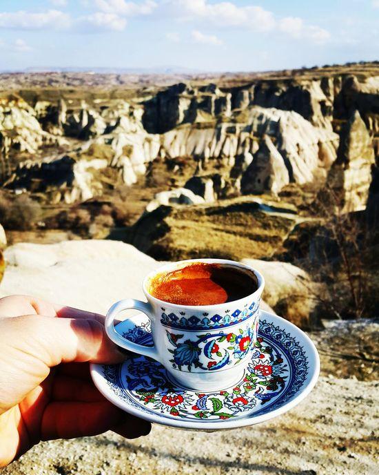 Turkishcoffee Coffee - Drink Coffee Cup Travel Destinations Drink Cappadocia Cappadocia/Turkey Cappadociasunrise Cappadocian