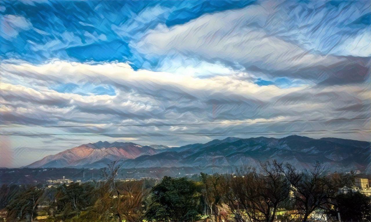 EyeEmNewHere Trikuta Hills Mountain Nature Cloud - Sky Mountain Range Mountain Peak Motog4plus Mobilephotography Udhampur JammuandKashmir Landscape Prisma Vashnodevi Beauty In Nature Tranquil Scene Long Goodbye BYOPaper!