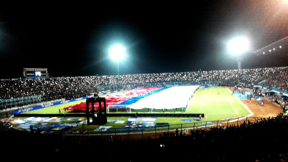 The Week On EyeEm the best suporter AREMA INDONESIA ONE SOUL ONE INCREDIBLE