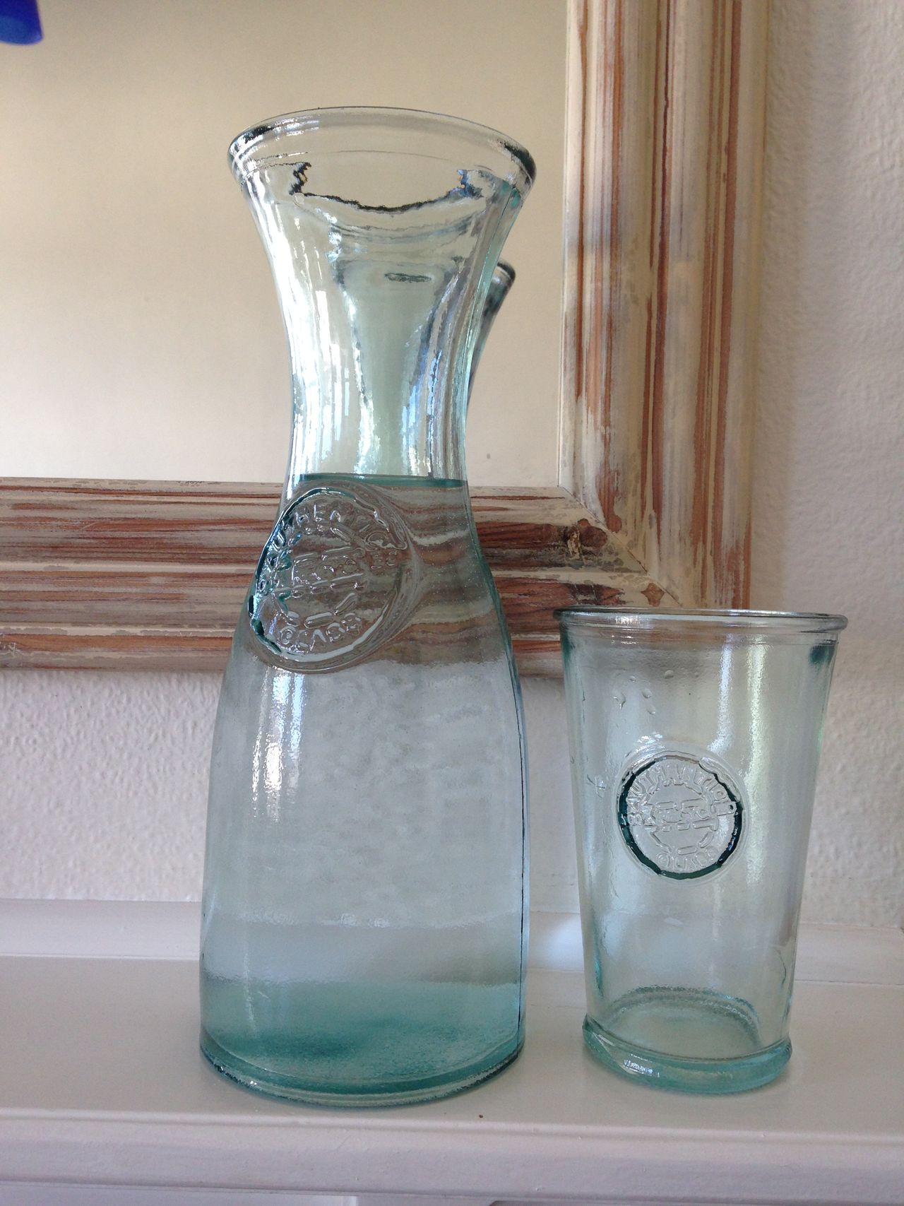 Close-up Day Freshness Glass Glass - Material Indoors  Jar No People Recycled Glass San Miguel Recycled Glass Table Water