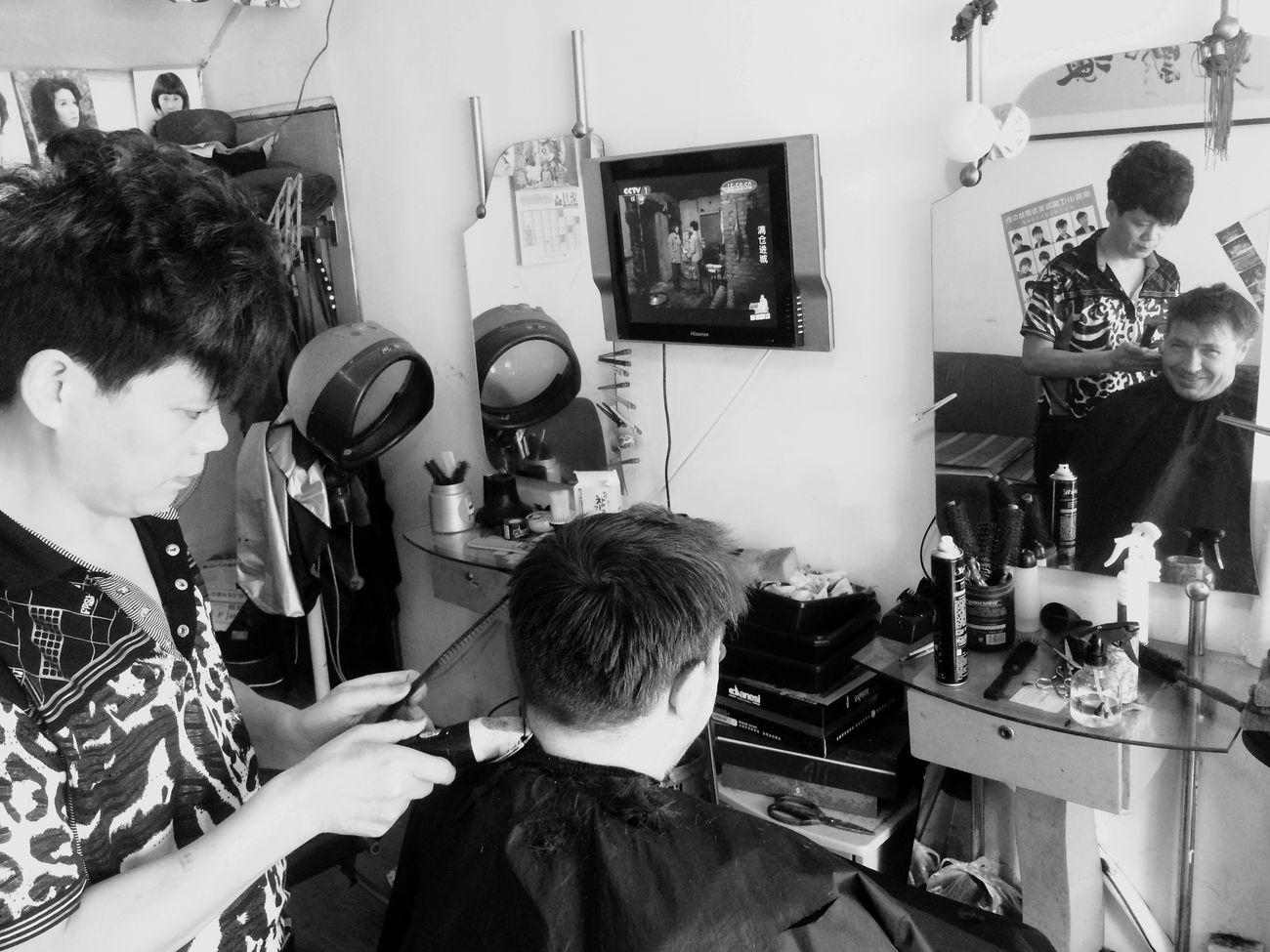 New Haircut PIngjiang Road Suzhou, China Danish Baking Shifu